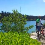passing freshwater lagoons