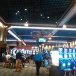 The spacious casino
