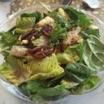 Large salad.