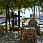 Artemis Restaurant, Pissouri, Cyprus - outside courtyard