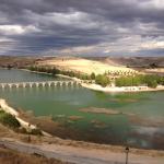 Vistas del Embalse de Linares en Maderuelo desde el Restaurante ALFOZ