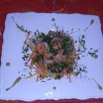 Petite recette concoctée par cours de cuisine avec Christophe