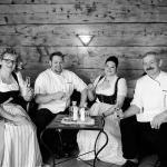 Familie Inge und Martin, Florian und Heidi Jäger