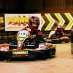 Exhilarating karting action