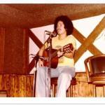 Corkroom's pioneer talent Lanny Crisostomo circa 1979 at Corkroom Cellar