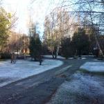 Otra vista el predio nevado