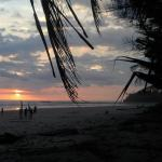 Sunset  with Alchile surf school