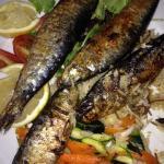 Sardines grillees