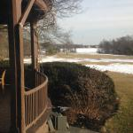View from patio in February