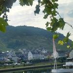 View from Veranda/restaurant