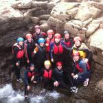 Fun Hen Party Outing Coasteering in Kilkee with Nevsail