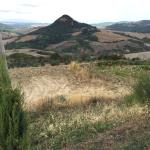 On Feragosto, we were looking for a place for lunch as Volterra was packed and there was no park