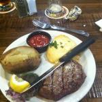 Steak & Halibut