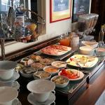 We loved the European breakfast