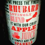 Cheeky Rhubarb pop