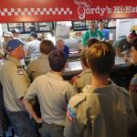 Self-Service with flair and friendly staff and delicious burgers