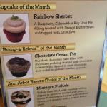 Did you know that cupcakes are eligible for monthly service awards?