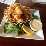 Battered calamari