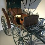 buggy at the museum