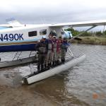 Float plane used to access remote fishing spots