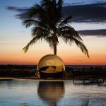 Sunset at The Pool Bar & Cabanas at Playa Santana