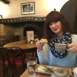 Tea at an historic tea room Chipping Campden