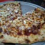 Our pizza, BBQ Chicken.