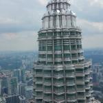Torri Petronas vista