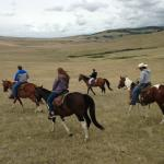 Riding on the DeBoo ranch