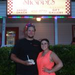 Anniversary ice cream at Squigley's