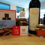gourmet food, wine, gift card