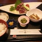 タタキ定食