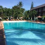 big and deep swimming pool