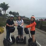 Robert is a great tour guide and coach for our Santa Barbara Segway tour.