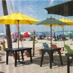 Outdoor Seating on the Beach