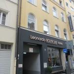 Monaco di Baviera, Hotel Leonardo, l'ingresso