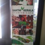 Lobby-Sign Board relating Kerala Oil Massage(Spa)