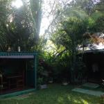 Le jardin, le patio et une chambre