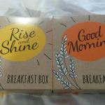 Breakfast boxes