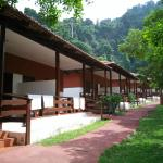 The resort chalets