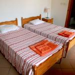 All apartments have twin beds the two bedroom has a large double in one bedroom