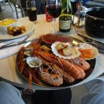 Great seafood platter