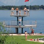 Strandbad Zeller See Foto