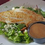 The Autumn Salad with Grouper