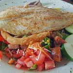 Mary's Salad with Grouper