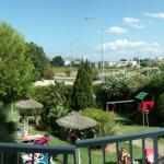 From the balcony of room 5 (BTW the rail isn't broken, its how the panaromic works on the camera