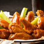 Billy's Award Winning Wings are big jumbo wings with a traditional wing sauce. They are amazing!
