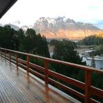 Balcón del Hotel Amancay..