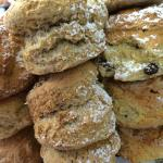 Freshly Baked Selection of Scones
