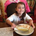 Lovely good portion size on desserts!